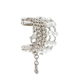 Bracciale decorato argento di MM6 MAISON MARGIELA