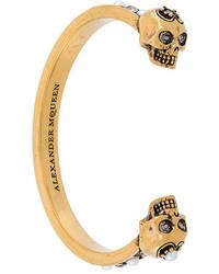 Bracciale dorato di Alexander McQueen