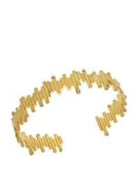 Bracciale dorato di Charlotte Valkeniers