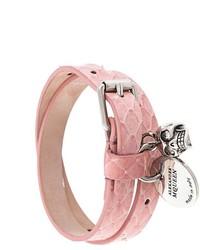 Bracciale rosa di Alexander McQueen