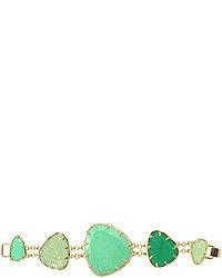 Bracciale verde menta
