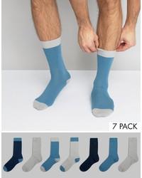 Calzini azzurri di Asos
