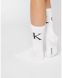 Calzini bianchi di Calvin Klein