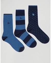 Calzini blu scuro di Jack Wills