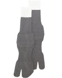 Calzini di lana grigi di Maison Margiela