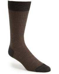 Calzini di lana grigio scuro