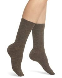 Calzini di lana marroni