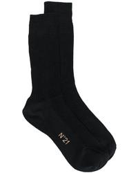 Calzini di seta neri di No.21