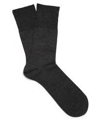 Calzini grigio scuro di Falke