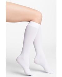 Calzini lunghi bianchi