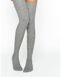 Calzini lunghi grigi di Jonathan Aston