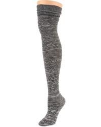 Calzini lunghi grigio scuro