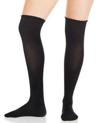 Calzini lunghi neri