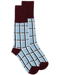 Calzini stampati azzurri di Marni