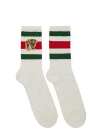 Calzini stampati bianchi di Gucci