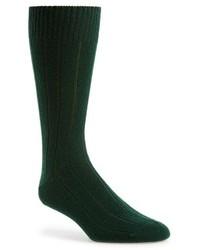 Calzini verde scuro