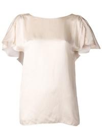 Camicetta a maniche corte beige original 1293189