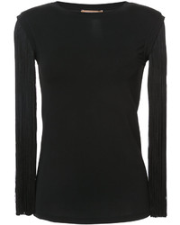 Camicetta di lana nera di Michael Kors