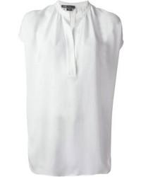 Camicetta manica corta bianca