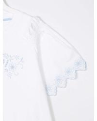 Camicetta manica corta bianca di Fendi