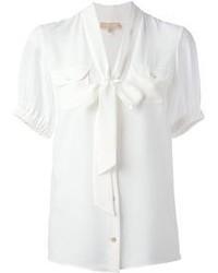 Camicetta manica corta bianca di Michael Kors