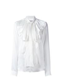 Camisetta a maniche lunghe con volant bianca di Faith Connexion