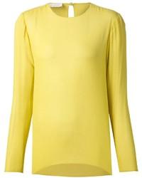 Camicetta manica lunga gialla