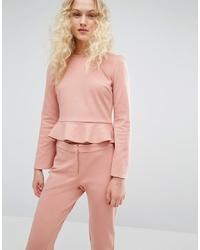 Camicetta manica lunga rosa di I Love Friday