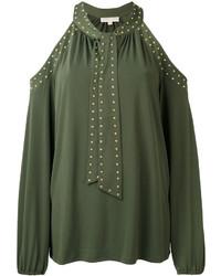 Camicetta verde oliva di Michael Kors