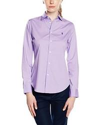 Camicetta viola chiaro di Polo Ralph Lauren