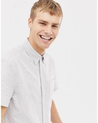 Camicia a maniche corte a righe verticali bianca di J.Crew Mercantile