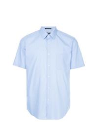 Camicia a maniche corte azzurra di D'urban