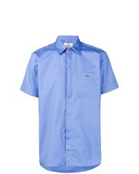 Camicia a maniche corte azzurra di Vivienne Westwood