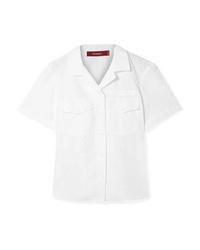 Camicia a maniche corte bianca di Sies Marjan