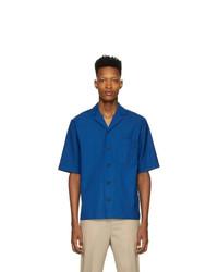 Camicia a maniche corte blu di 3.1 Phillip Lim
