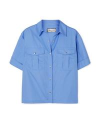 Camicia a maniche corte blu di Paul & Joe