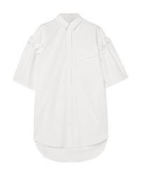 Camicia a maniche corte decorata bianca di Mother of Pearl