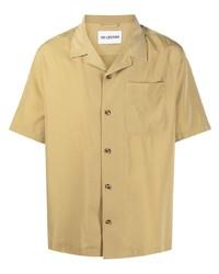 Camicia a maniche corte marrone chiaro di Han Kjobenhavn