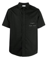 Camicia a maniche corte nera di Ih Nom Uh Nit