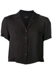 Camicia a maniche corte nera di Rag and Bone