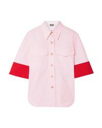 Camicia a maniche corte rosa di Calvin Klein 205W39nyc