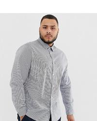 info for d9f31 0096b Camicie a maniche lunghe a righe verticali bianche e nere da ...