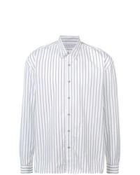 info for 783e4 23089 Camicie a maniche lunghe a righe verticali bianche e nere da ...