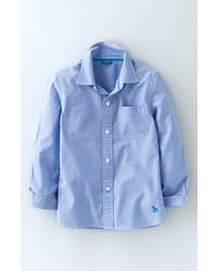 Camicia a maniche lunghe azzurra