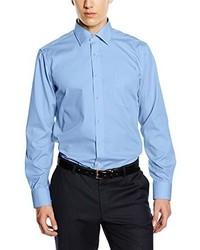 Camicia a maniche lunghe azzurra di Casamoda