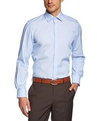 Camicia a maniche lunghe azzurra di Daniel Hechter