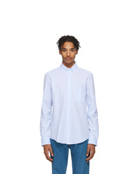 Camicia a maniche lunghe azzurra di Lanvin