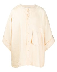 Camicia a maniche lunghe beige di Henrik Vibskov