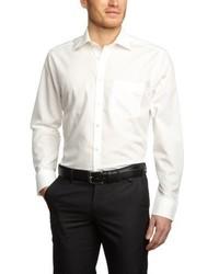 Camicia a maniche lunghe beige di Seidensticker