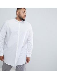 Camicia a maniche lunghe bianca di ASOS DESIGN